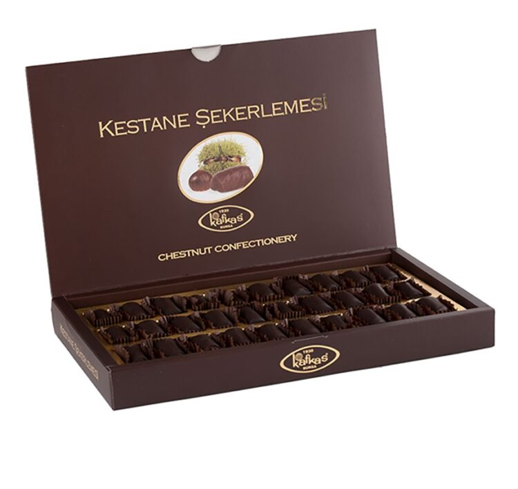 Turkish Candied Chestnut - Chocolate Covered