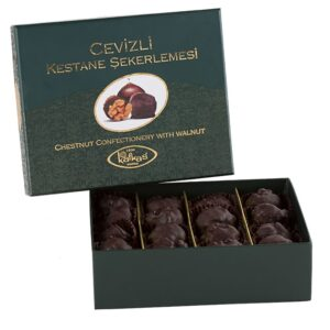 Turkish Candied Chestnut with Walnut