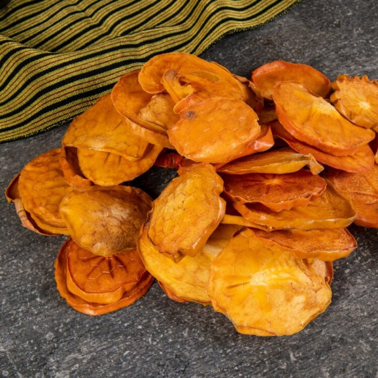 Turkish Natural Sun Dried Persimmon Chips