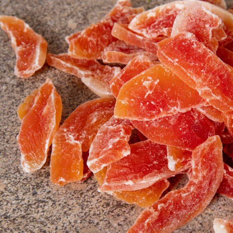Turkish Natural Sun Dried Tropical Papaya
