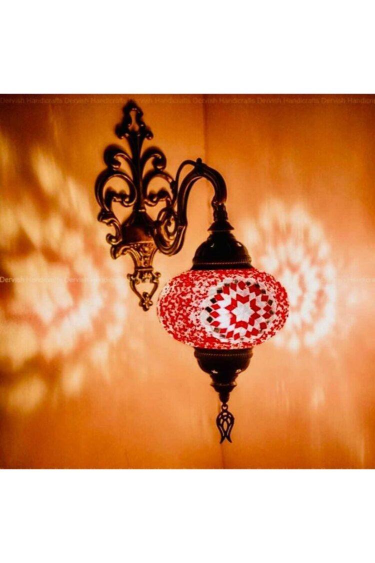 Turkish Mosaic Abrik Wall Lamp - Vuslat