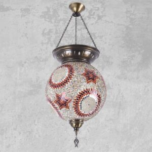 Turkish Mosaic Ceiling lamp - Melek