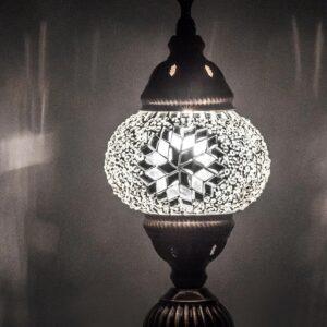 Turkish Mosaic Desktop Lampshade Lamp - Ay