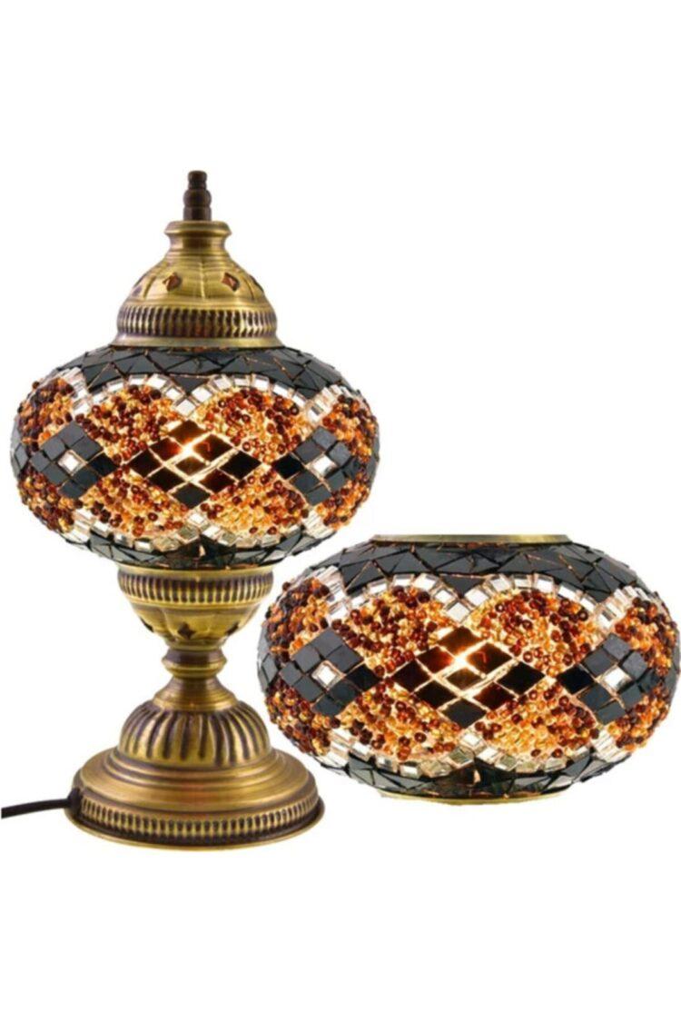 Turkish Mosaic Desktop Lampshade Lamp - Çakır