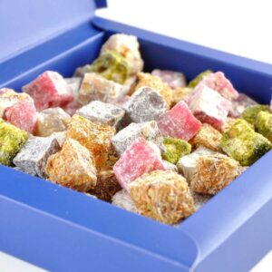 Double Roasted Turkish Delight with Assorted Nuts - Hacı Şerif