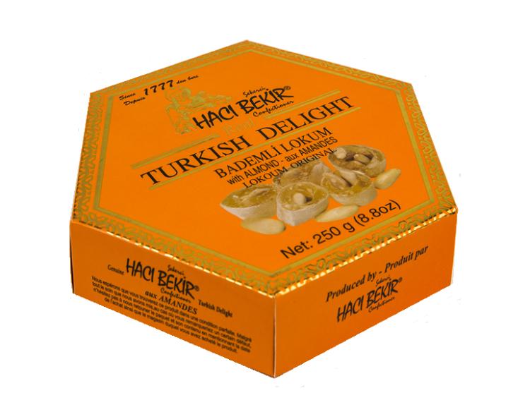 Turkish Delight (with Almonds)-Turkish Lokoum