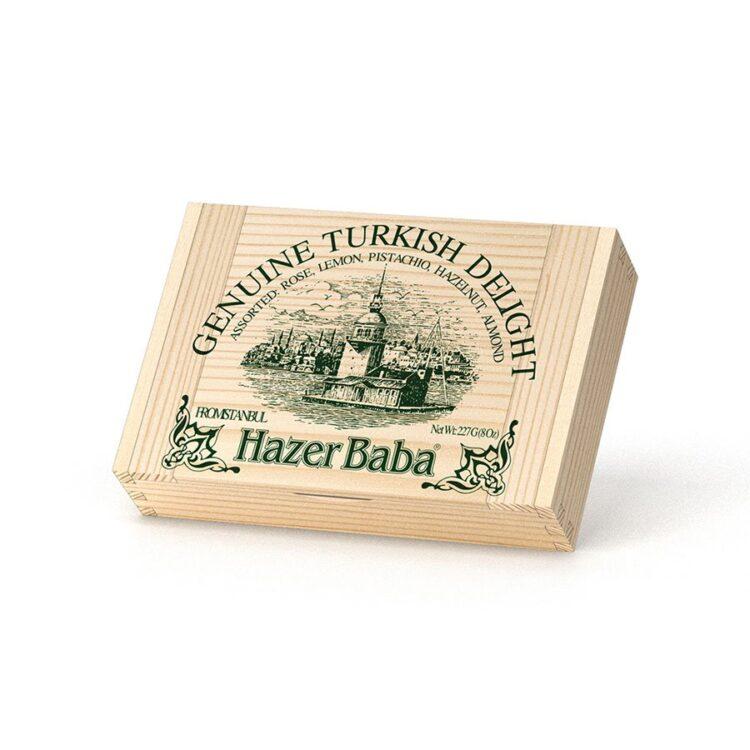 HazerBaba Genuine Turkish Delight (Lokoum) Assorted - 227g (8.00oz)