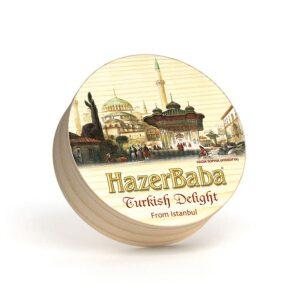 HazerBaba Genuine Turkish Delight (Lokoum) From İstanbul Hagia Sophia (Ayasofya) - 454g (16.01oz)