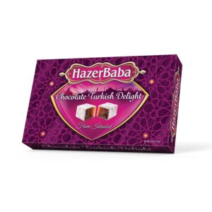 HazerBaba Turkish Delight (Lokoum) Chocolate - 350g (12.25oz)