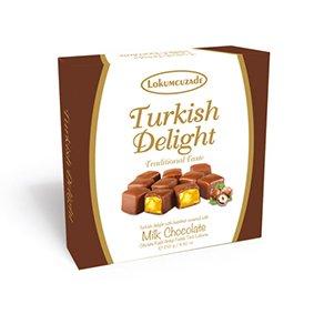Turkish Delight (Hazelnut and Chocolate Coated)