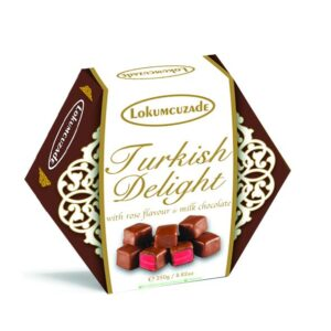 Turkish Delight (Rose Flavored Chocolate Coated)