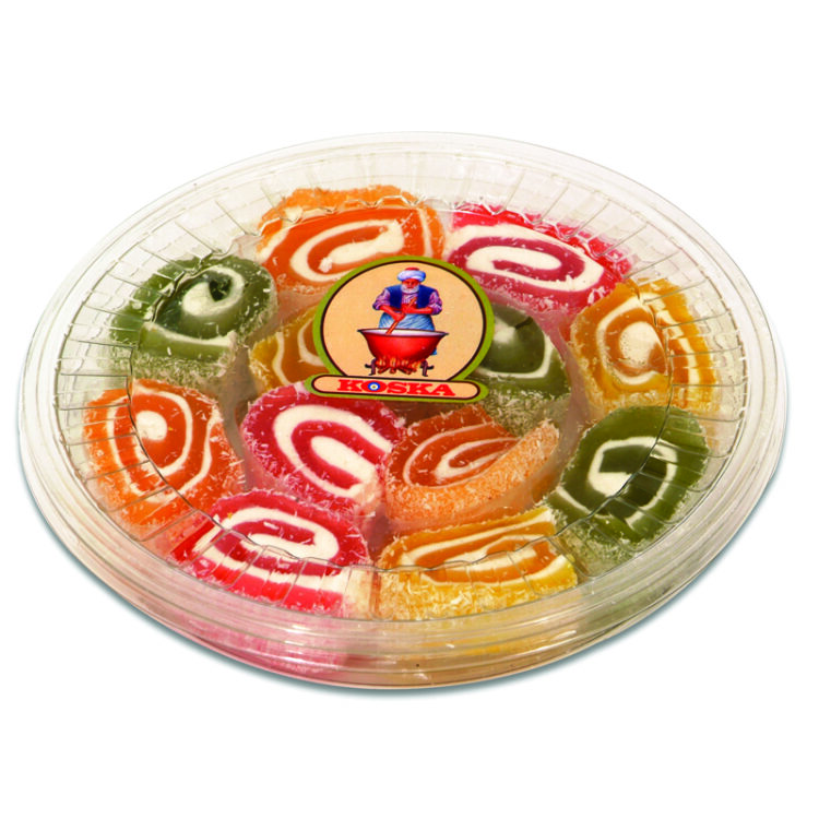 Turkish Delight Sultan (Fruit Flavored)-Transparent Boxed