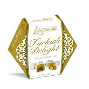 Turkish Delight (with Hazelnut and Pistachio)