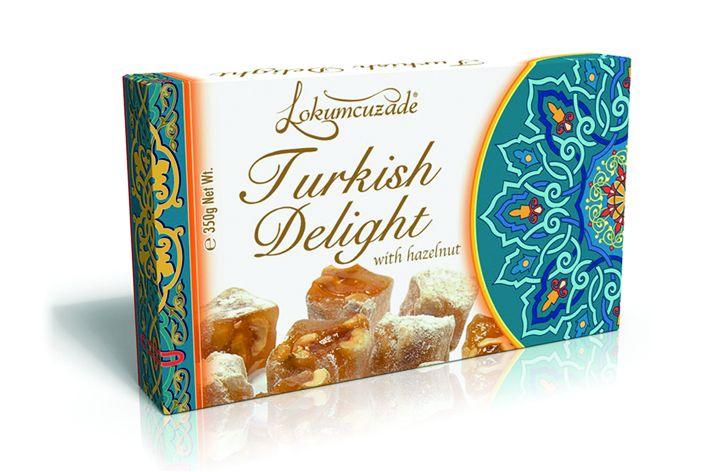 Turkish Delight (with Hazelnut)