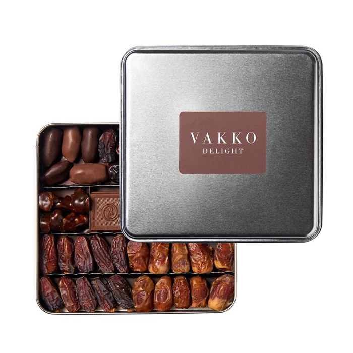 Turkish Chocolate Covered Delight  with Date - Vakko