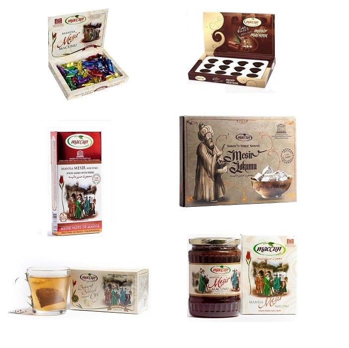 Turkish Paste (Mesir Macunu) - Maccun Set (6 in 1)