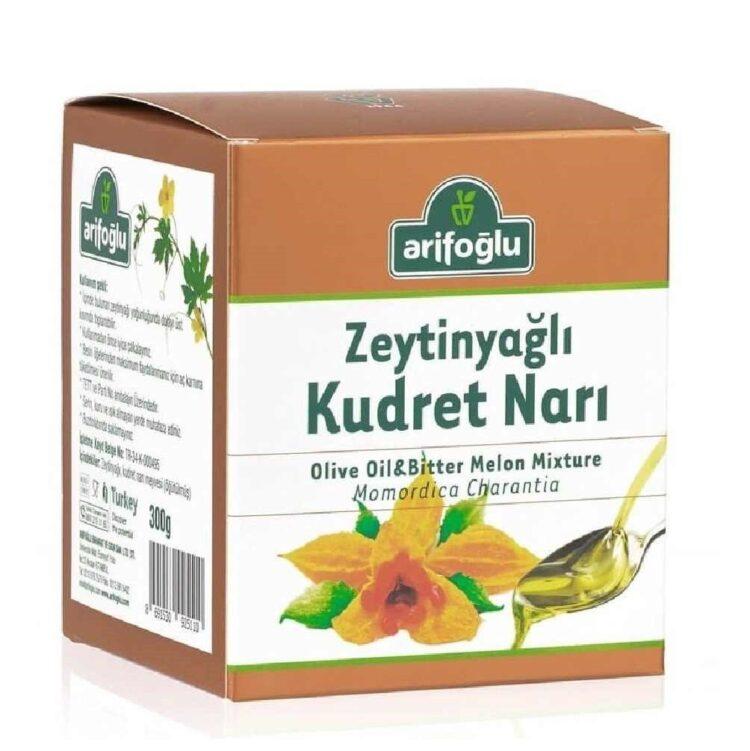 Turkish Olive Oil&Bitter Melon Mixture Momordica Charantia