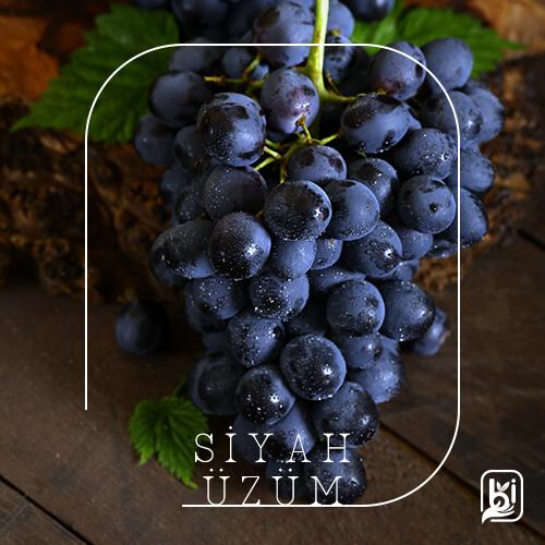Turkish Natural Black Seedless Grapes