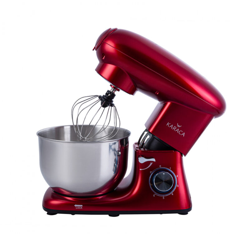 Turkish Multi Chef Stand Mixer with Ground Meat Pulling Apparatus - RedGold