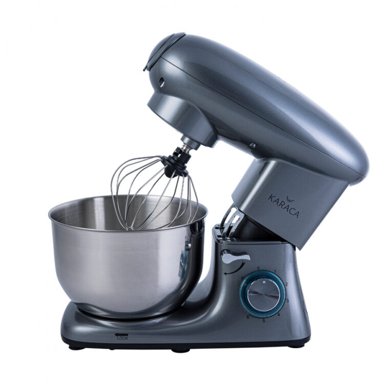 Turkish Multi Chef Stand Mixer with Ground Meat Pulling Apparatus - Anthracite Grey