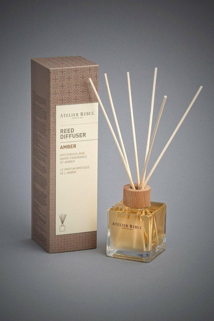 Amber Scented Bamboo Stick Air Freshener - Atelier Rebul