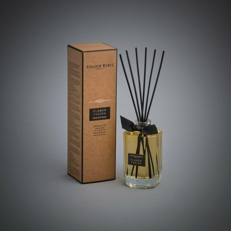 Flower Fusion Scented Bamboo Stick Air Freshener - Atelier Rebul