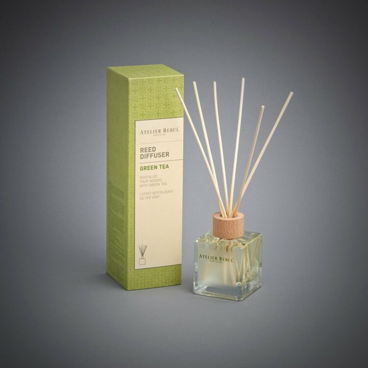 Green Tea Scented Bamboo Stick Air Freshener - Atelier Rebul