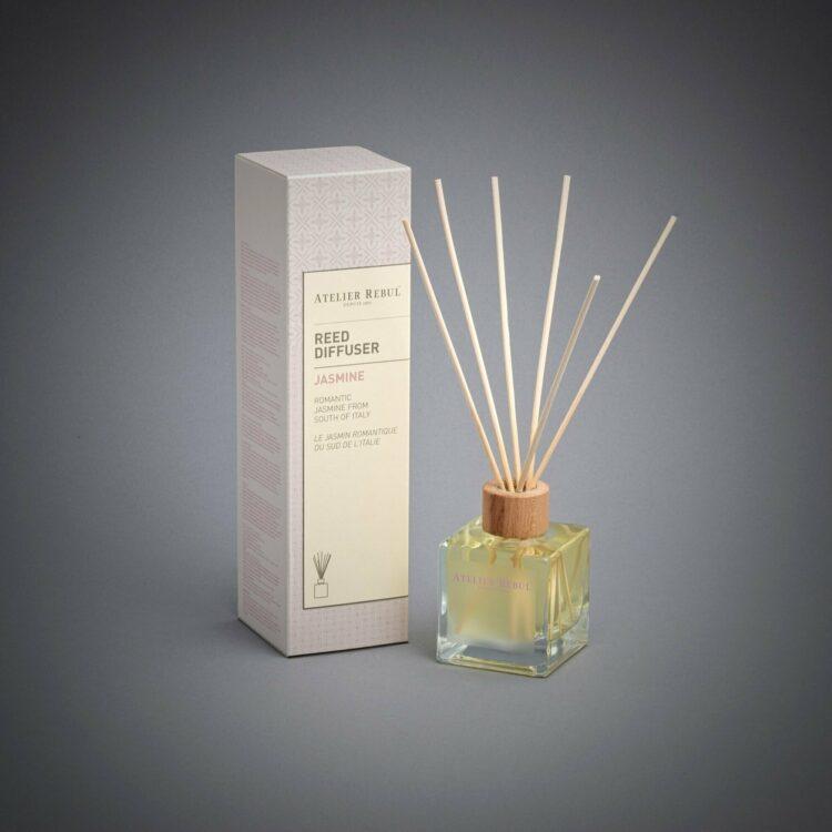 Jasmine Scented Bamboo Stick Air Freshener - Atelier Rebul
