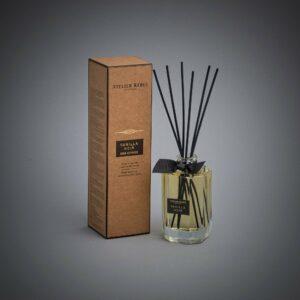 Vanilla Noir Scented Bamboo Stick Air Freshener - Atelier Rebul