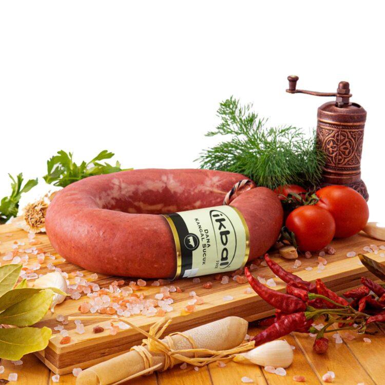 Turkish Beef Kangal Fermented Sucuk (Sujuk) Original - Ikbal