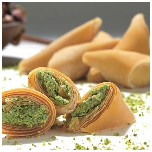 Turkish Dried Fruit Pulp with Pistachio - Muska (Best Quality)