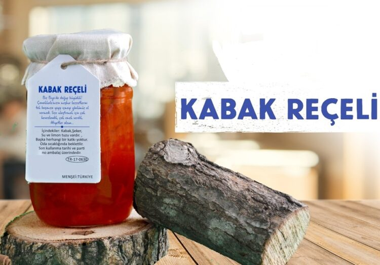Turkish Diabetic No Additive Pumpkin Jam