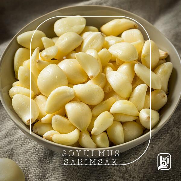 Turkish Natural Peeled Garlic