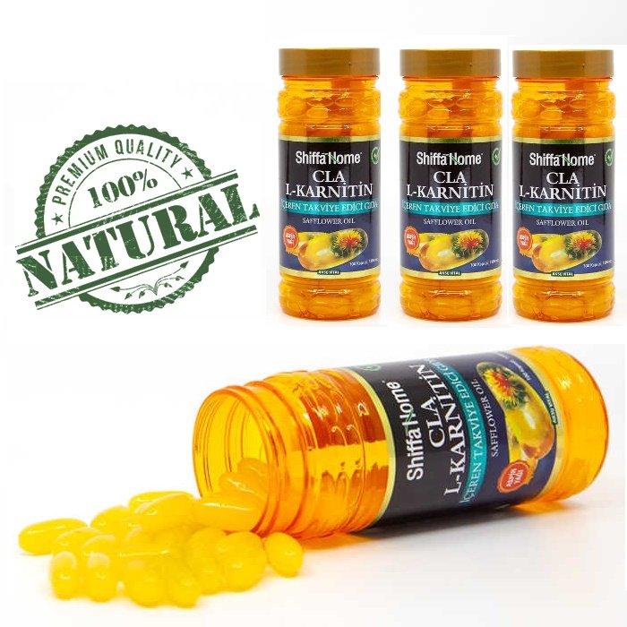 Turkish Herbal Supplement-Safflower Oil / CLA L-Carnitine