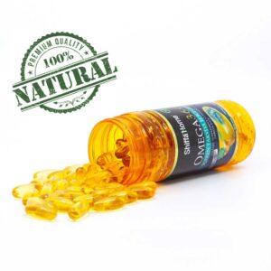 Turkish Herbal Supplement-Omega 3-6-9 (DHA-EPA) Capsules/1000 mg