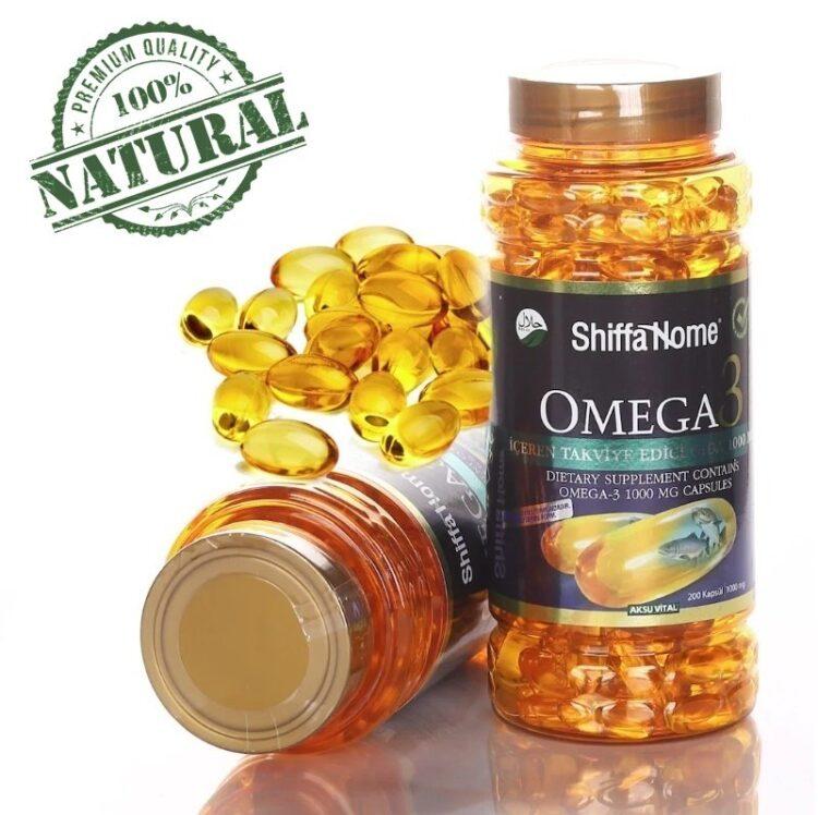 Turkish Herbal Supplement-Omega 3 (DHA-EPA) Capsules/1000 mg