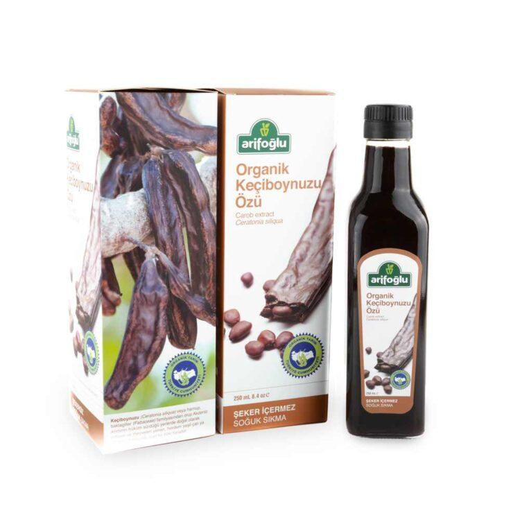 Arifoğlu Organic Carob Extract-Ceratonia Siliqua 250mL