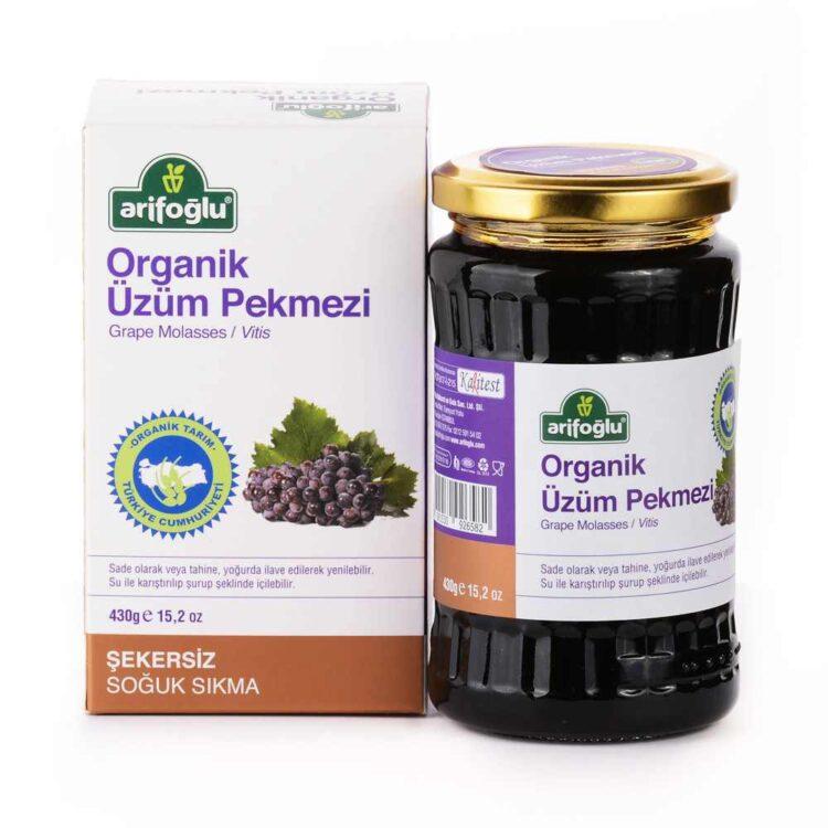 Arifoğlu Organic Grape Molasses-Vitis 430g (15.17oz)
