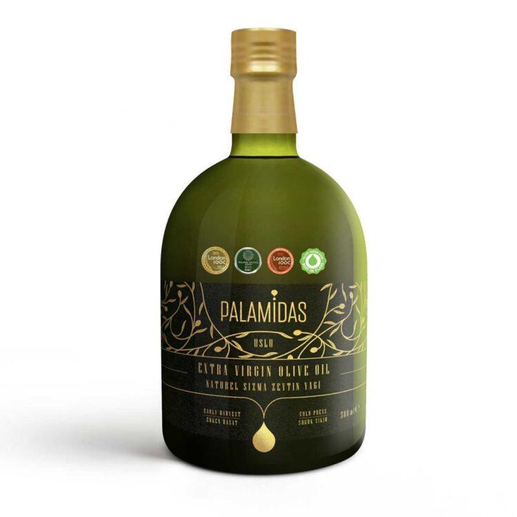 Turkish Gourmet Selection Award-Winning Natural Extra Virgin Olive Oil - Palamidas