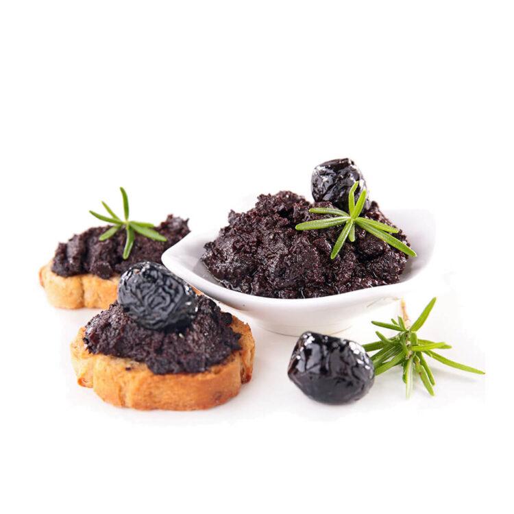 Turkish Natural Black Olive Paste (Spread)