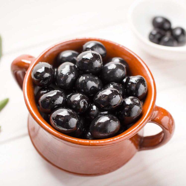 Turkish Natural Black Olives