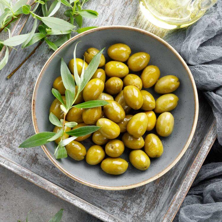 Turkish Natural Green Olives