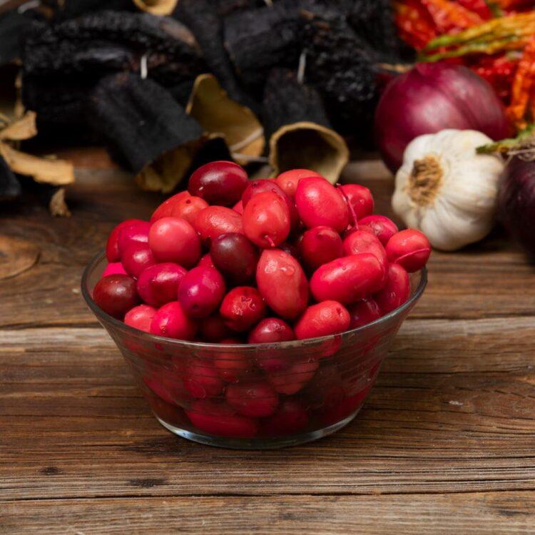 Turkish Natural Red Beet Olives
