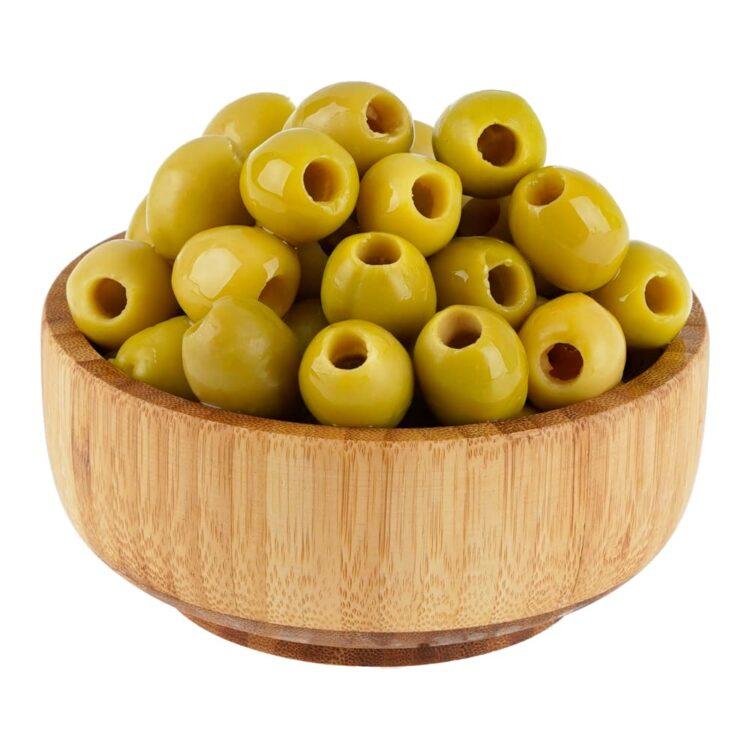 Turkish Natural Seedless Green Olives