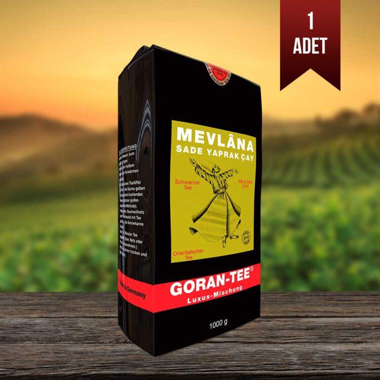 Mevlana Black Leaf Tea - Mevlana Schwarzblatttee (Goran Tee) 1Kg