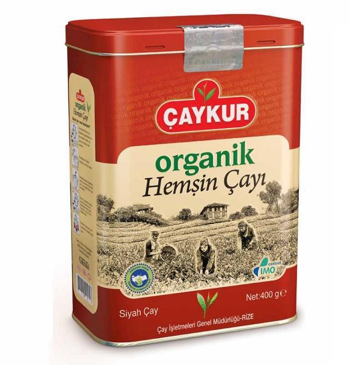 Turkish Hemsin Organic Black Tea (Metal Box)