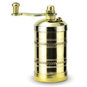 Turkish Brass Pepper Grinder & Mill