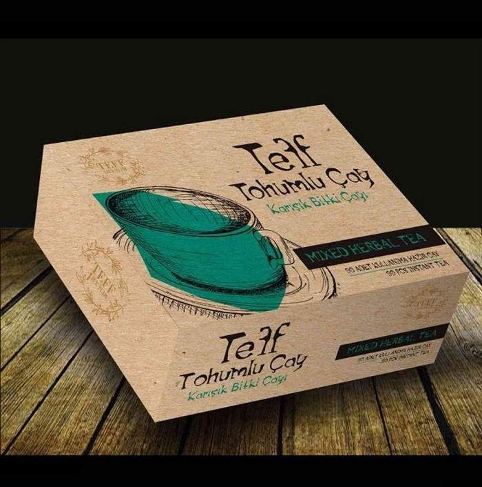 Turkish Teff Tea Natural Slimming Mixed Herbal Tea Life Slim