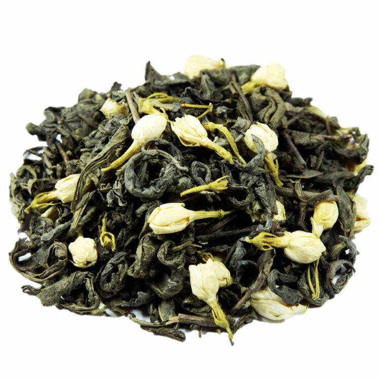 Turkish Green Tea with Jasmine Flower - Natural Mixed Herbal Tea