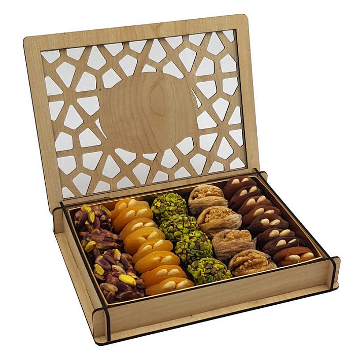 StamboulBazaar Premium Assorted Dried Fruit/Dried Nuts (Cage Box)